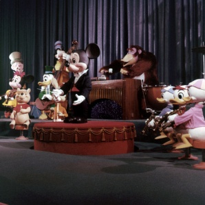 WDW-411A - Mickey Mouse Conducts Revue